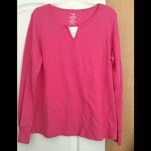 Hot Pink color women top plus size XXL(2/$16)